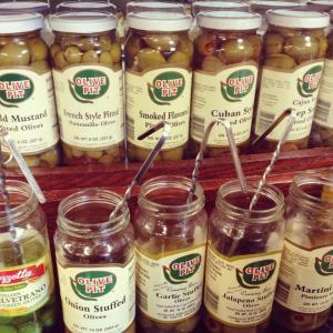 Olive Pit Samples
