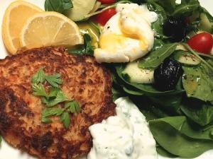 Salmon Latke