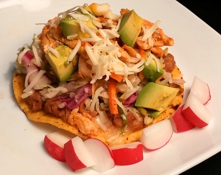 Saved by Chicken Tostadas