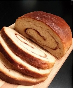 Banana Swirl Bread