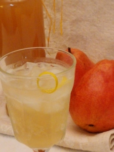 Pear Ginger Shrub