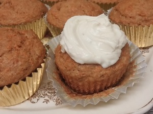 Carrot Chai Muffins