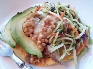 Jerk Pork Tostada