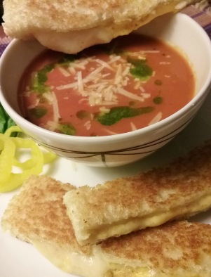Tom Soup, Grilled Cheese
